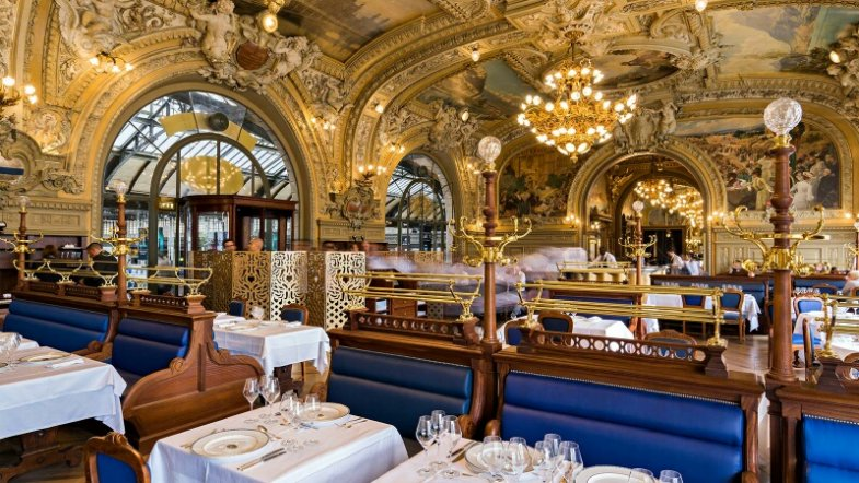 Paris Gare de Lyon, Le Train Bleu foto ©: Le Train Bleu